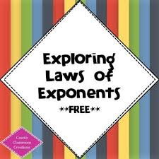 57 best exponents images on pinterest teaching ideas teaching