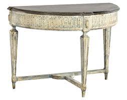 Baroque Coffee Table by Baroque Demi Lune Traditional Console Tables Dering Hall