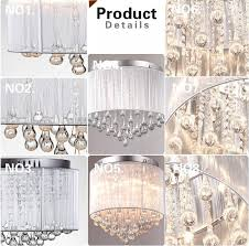 Chandelier Parts Crystal 14pcs Lot 20x80mm Crystal Glass Raindrop Prism Pendant Chandelier