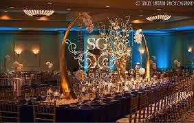 Manzanita Branches Centerpieces Suhaag Garden Florida California Wedding Decorators Fort