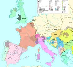 Europe Language Map by L O I A O R G