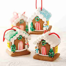 gingerbread ornaments gingerbread house ornaments mackenzie limited