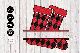 personalized stockings cute christmas svg for cricut by