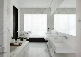 Wall Mounted Bathroom Sink Faucets by Contemporary Master Bathroom With Complex Marble Floors U0026 Master