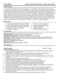 Network Engineer Sample Resume by Network Engineer Resume Resume 2015 Network Engineer Skills And
