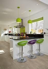 kitchen bar stools modern lime green kitchen bar stools outofhome
