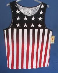 Red White Black Flag Urban Pipeline Stars U0026 Stripes Red White Black Flag Muscle T Shirt