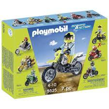 motocross bike shop playmobil motocross bike 5525 6 40 hamleys for playmobil