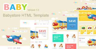 baby store html5 template by theme3x themeforest