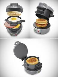 Breakfast Sandwich Toaster Forget Fast Food Get A Hamilton Beach Breakfast Sandwich Maker