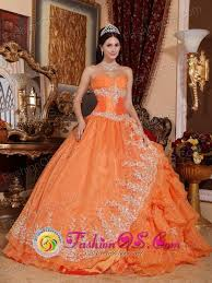 orange quinceanera dresses san luis potosi mexico wholesale gorgeous orange quinceanera