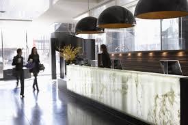 Lobby Reception Desk Hotel Le Germain Calgary By Lemaymichaud In Calgary Canada