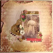 Wedding Scrapbook Page Scrapbooking Wattle Lane