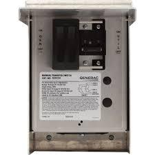 free shipping u2014 generac manual transfer switch u2014 30 amps 125 250