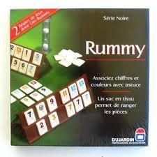 mahjong ustensile de cuisine jeu de société rummy chiffres et gin rummy etat neuf sous blister