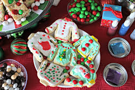 sweater cookies deck the halls