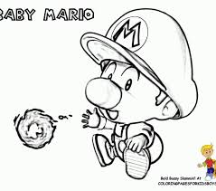 baby mario coloring pages coloring beach screensavers