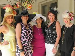 tea party hats neiman donna on the town