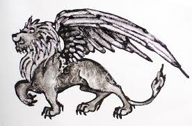 winged tribal lion tattoo design photos pictures and sketches