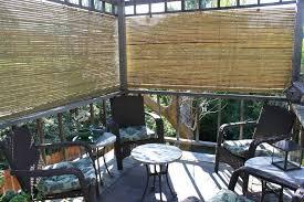 Patio Blinds Walmart Patio Ideas Bamboo Sun Shades Patio 72x60 Rustic Laguna Roll Up
