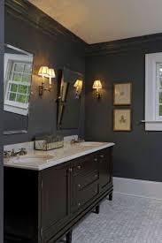 Gray Bathroom - gray walls excellent perfect corridor grey walls white doors dark