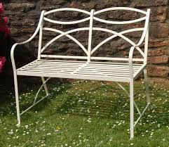 Homebase Garden Furniture Classic Benches In Wrought Iron