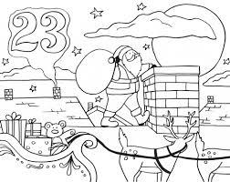 advent calendar coloring pages getcoloringpages com