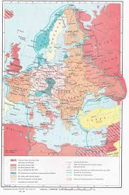 Map Of Central Europe Historical Maps Of Central And Eastern Europe