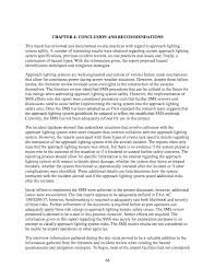 Approach Lighting System Chapter 4 Conclusion And Recommendations Contractor U0027s Final