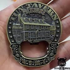 usmc alumni tun tavern alumni marine corps challenge coin bottle opener
