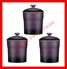 purple kitchen canister sets 25 images sabichi 6 canister set