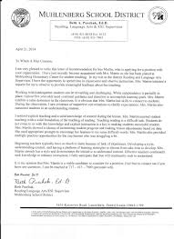 Recommendation Letter Sample For Teacher Assistant Professional Suzanne Martin