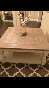 brown square coffee table antique white harvest coffee table coffee etsy and living rooms