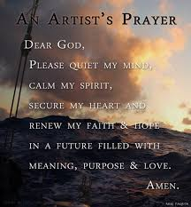 an artist s prayer mim paquin