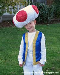 mario costumes for halloween what i made today tutorial toad from mario bros