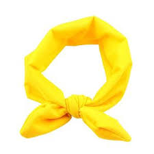 yellow headband headbands laboutinie
