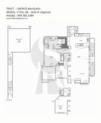 E Plans by Condos For Sale In Monticello Irvine View Floor Plans