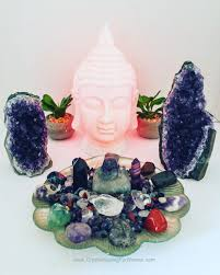 from crystal specimens to spiritual home decor to gemstone
