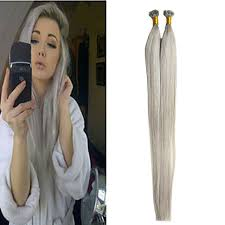 hairstyles for bonded extentions silver grey hair extensions brazilian straight hair style pre