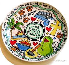 personalized serving platter ceramic 37 best artzfolk images on couples