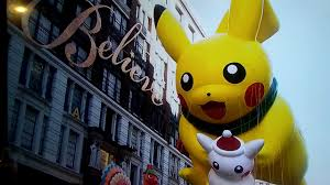 pikachu in the 2017 macy s thanksgiving day parade