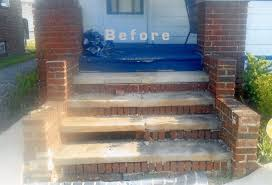 entryway and stairs cornerstone masonry