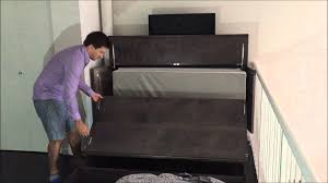 denva cabinet bed review video youtube
