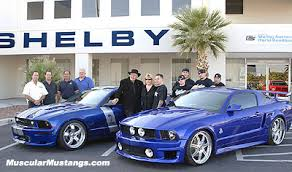 mustang carroll shelby carroll shelby and coast customs team up