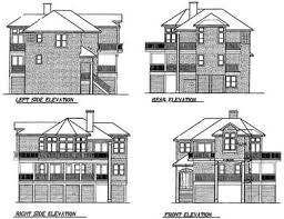 beach house plans narrow lot narrow lot beach house plan 13038fl architectural designs