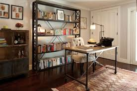 Stylish Home Decor Bookshelves Stylish And Dramatic Masculine Home Offices Home