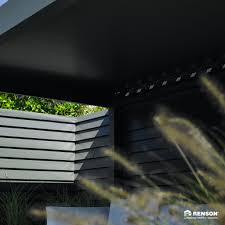 Louvered Roof Pergola by Products Kamchis Shading Systems