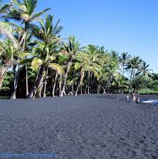 Black Sand Beaches by Black Sand Beach Photo Wp03110