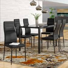 dining room set modern modern dining room sets you ll love wayfair