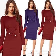fashion pencil dresses skirts plus size dresses women midi dresses